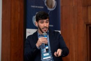 30/05/2018. Credito: Euler Junior/Comunicacao Empresarial/Cemig. Belo Horizonte - MG. Brasil. Cadu Guerra, CEO da Allugator durante palestra no WCS - Workshop Comportamento Sustentavel, realizado no auditório da Cemig.
